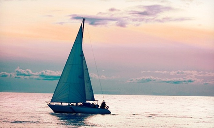 Port Sailing School - Manorhaven: Three-Hour Sailing Lesson with $10 Food Voucher from Port Sailing School (71% Off)