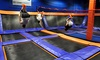 Sky Zone  - Elmhurst: Two 60- or 90-Minute Jump Passes at Sky Zone (Up to 46% Off)