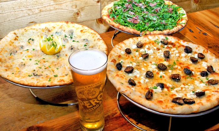 Slyce - Ardsley: Artisan Pizza at Slyce (Up to 48% Off). Four Options Available.