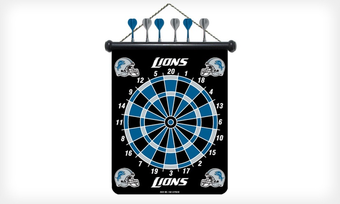 NFL Magnetic Dartboard: $19 for an Officially Licensed NFL Magnetic Dartboard ($34.99 List Price). Free Shipping.