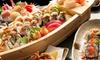 Menu sushi con barca e birra 0.66l