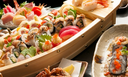 Sushi and Pan-Asian Cuisine for Dine-In or Take-Out at Umi Sake @ Row (Up to 48% Off)
