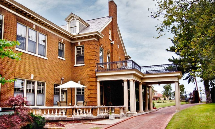 Kennedy Mansion Bed and Breakfast - Gilcrease Hills: One-Night Stay with Option for Couples Massage at Kennedy Mansion Bed and Breakfast in Tulsa, OK