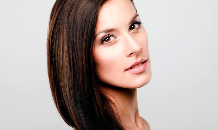 Glam Studio - Glam Studio: Brazilian Blowout with Optional Haircut at Glam Studio (Up to 55% Off)