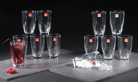RCR Diamante Hiball Crystal Glass Set for £9.98 (80% Off)