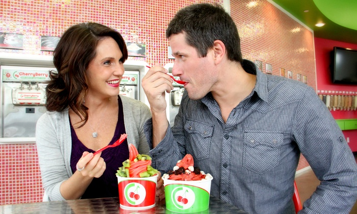 CherryBerry - CherryBerry: $12 for Punch Card for Frozen Yogurt at CherryBerry ($20 Total Value)
