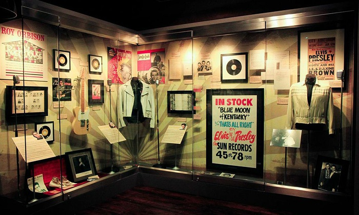 """The Johnny Cash Museum - SoBro: $17 for Admission for Two – Including """"The Legends of Sun Records"""" – at The Johnny Cash Museum ($30 Value)"""