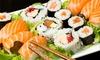 10% Cash Back at Kaz Sushi Bistro