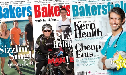 "One-or Two-Year Subscription to ""Bakersfield Magazine"" (Up to 48% Off)"