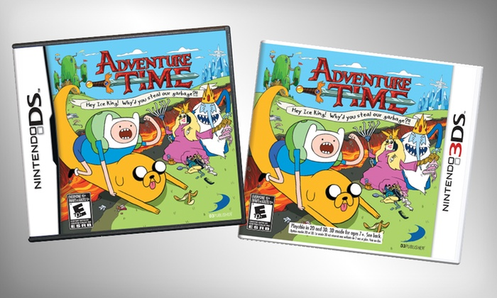 Adventure Time for Nintendo DS or 3DS: $17.99 for an Adventure Time Video Game for Nintendo DS or 3DS ($29.99 List Price). Free Shipping and Free Returns.