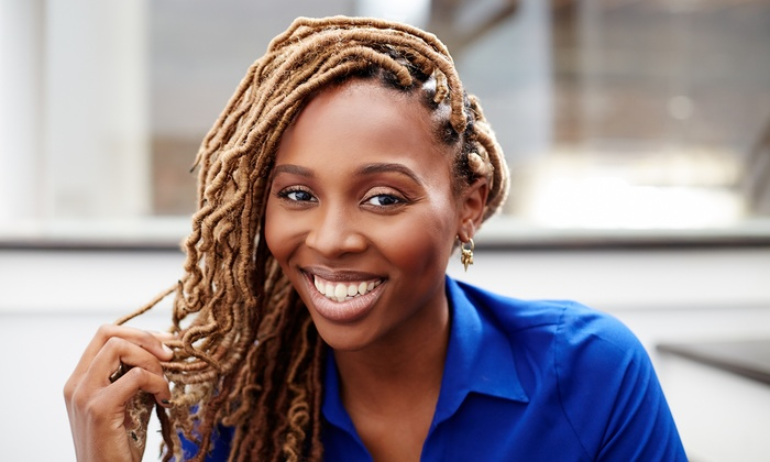 Synergy Beauty Studio - Multiple Locations: $95 for Box Braids or Rope Twists at Synergy Beauty Studio ($195 Value)