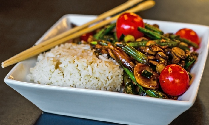 Asian fusion cuisine wok asian bistro groupon for Asian fusion cuisine