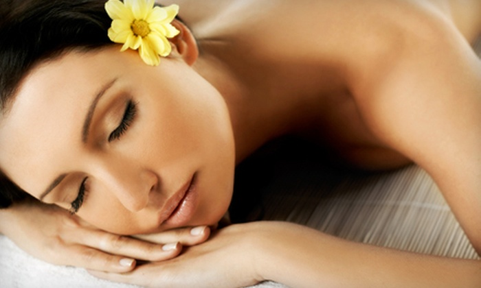 Organic Elements Spa - Medford: Men's, Women's, or Couples Massage with Footbath and Facial at Organic Elements Spa (Up to 57% Off)