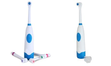 Cepillo de dientes eléctrico con 4 recambios