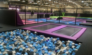 Xtreme 360: One-Hour Trampoline Park Access for Up to Four at Xtreme 360 (25% Off)