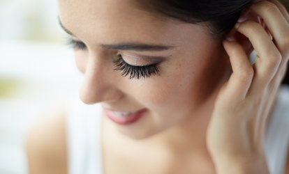 Full Set of Flare <strong>Eyelash Extensions</strong> with Optional Fill at Heritage Threading Salon & Spa (Up to 62% Off
