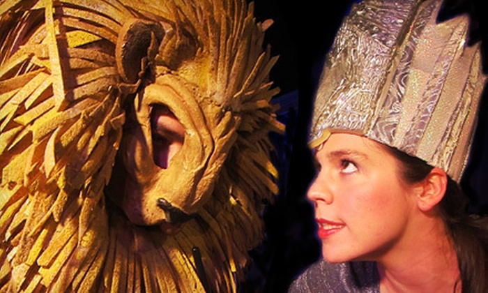 """""""The Lion, The Witch and The Wardrobe"""" - St. Lukes Theatre: Performance of """"The Lion, The Witch and the Wardrobe"""" for One or Four at St. Luke's Theatre (Up to 51% Off)"""