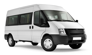Angel Express Transportation Services, LLC: Round-Trip EWR Airport Transportation for Up to 8 Passengers from Angel Express Transportation Services, LLC (46% Off)