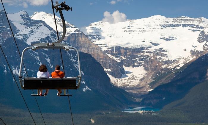 Lake Louise Ski Resort - Lake Louise Summer Gondola: Sightseeing Gondola Ride for Two or Four at Lake Louise Ski Resort (Up to 50% Off)