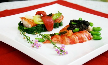 Four-Course French Dinner for Two or Four at La Panetière (52% Off). Two Options Available. 5418e72a-6480-0fc3-f3a2-df68029c0b32