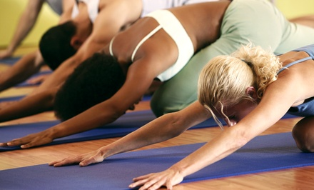 5 or 10 Yoga Classes, or One Month of Unlimited Classes at Yoga World Studio (Up to 68% Off)