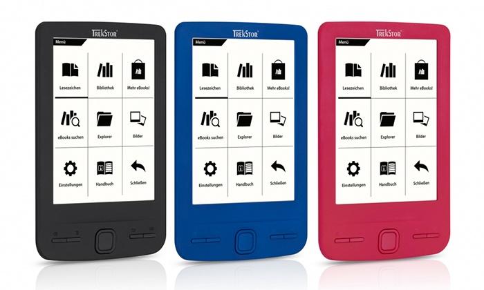 Libro Electrónico Trekstor Pyrus Mini Rosa Azul O Negro Por 43 90