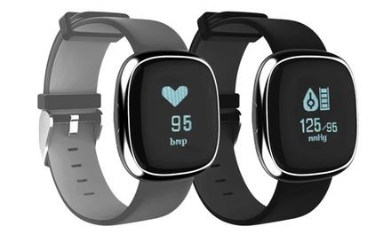 Montre Connectée Fi ness avec Mesure Fréquence cardiaque, Tracker dActivité,Mesure tension artérielle et oxygène
