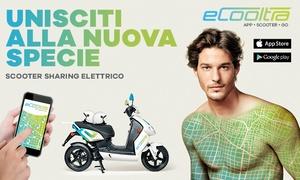 eCooltra - Scooter Sharing Elettrico: Fino a 300 minuti di Scooter Sharing con eCooltra a Roma, Barcellona, Madrid e Lisbona con iscrizione inclusa