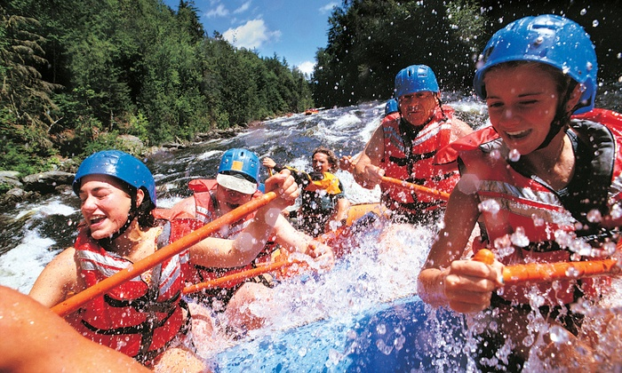Canadian Rockies Adventure Centre - Rafting Base: C$55 for a Rafting Trip on the Kananaskis River from Canadian Rockies Adventure Centre (C$110 Value)