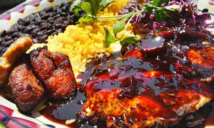 Prado Restaurant - Mid-Wilshire: Caribbean Fusion Cuisine at Prado Restaurant (Half Off). Two Options Available.