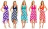 Chevron-Print Halter Dress: Chevron-Print Halter Dress
