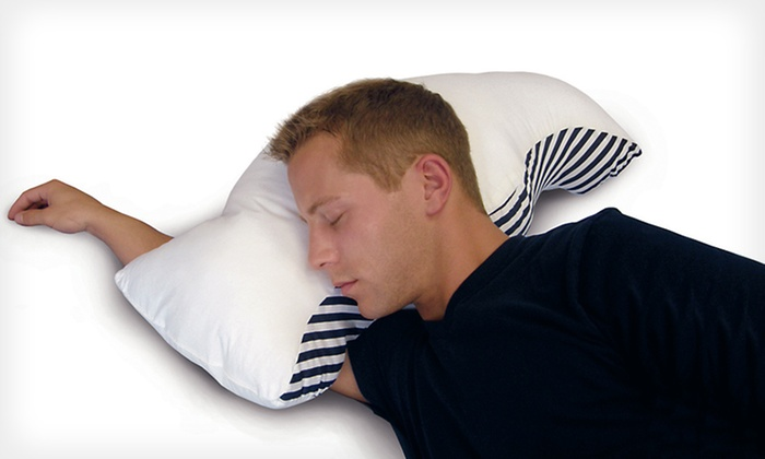 Sona Stop Snoring Pillow with Case: $35 for a Sona Stop Snoring Pillow with a Cotton Pillowcase ($59.99 List Price). Free Shipping and Free Returns.