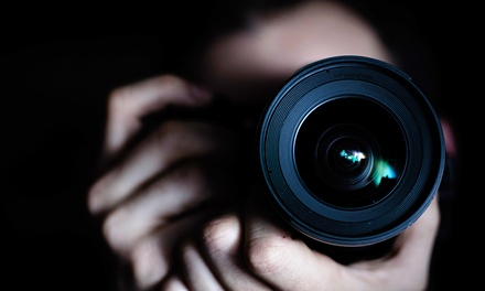 groupon daily deal - $39 for an Online Photography Certification Course at Shaw Academy ($849 Value)