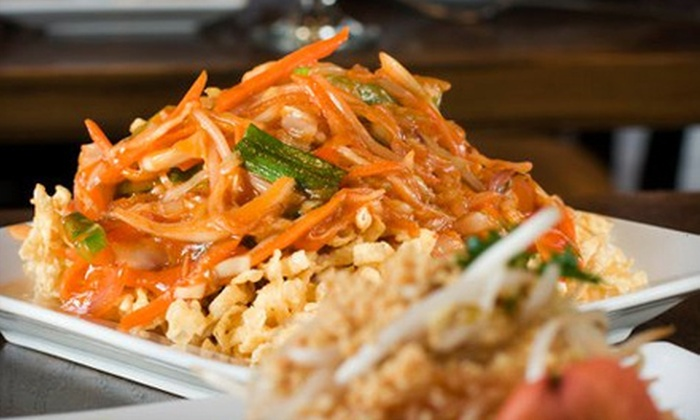 China Spice - Journal Square: $30 Worth of Chinese-Thai Fusion Cuisine