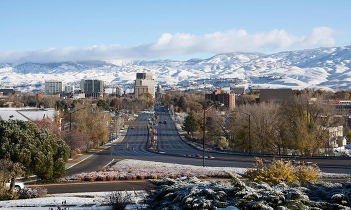null - Boise: Stay with Optional Valet Parking at 4-Star Hotel 43 in Boise, ID