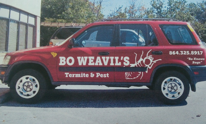 Bo Weavils Termite and Pest Lc - Greenville: $45 for $85 Worth of Pest-Control Services — Bo Weavil's Termite and Pest LC