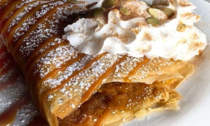 Crepes and Grapes Cafe: $10 for $20 Worth of Crêpes and More for Breakfast, Lunch, or Dinner