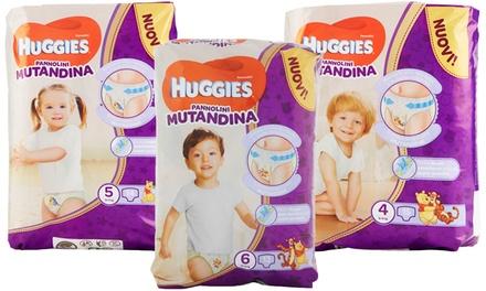 Pannolini mutandine Huggies