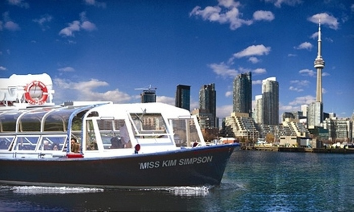 Toronto Harbour Tours - Downtown Toronto: One-Hour Boat Tour of Toronto Harbour and Islands from Toronto Harbour Tours (Up to 65% Off). Two Options Available.