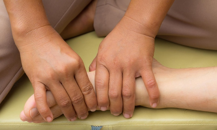 Barefoot Therapeutics - Santa Barbara-Martineztown: 60-Minute Massage with Relexology Treatment from BareFoot Therapeutics (31% Off)
