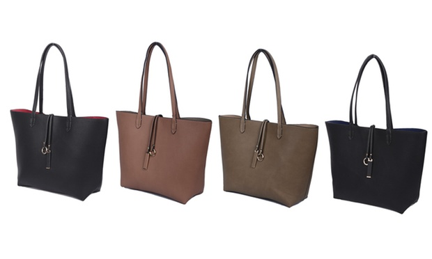 Favori Sac cabas reversible 3 en 1 | Groupon Shopping QS59