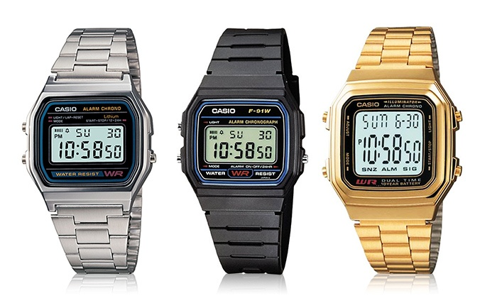 Groupon Direct - 150584 - Merchandising (AE): Casio Vintage Watches starting from AED 49
