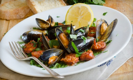 Italian Dinner for Two or Four at Carmine's Restaurant (Up to 57% Off)