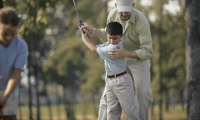 Rocklin Golf Tech Center - Sunset Creekside: One Week of Golf Lessons from Rocklin Golf club Tech Center (67% Off)