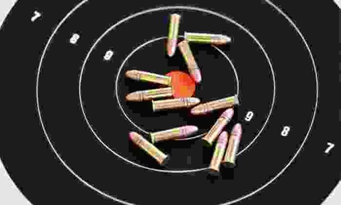 Caswells Shooting Range - Mesa: $35.99 for a Shooting-Range Package for Two with Handgun and Shotgun Rental at Caswells Shooting Range ($63.20 Value)