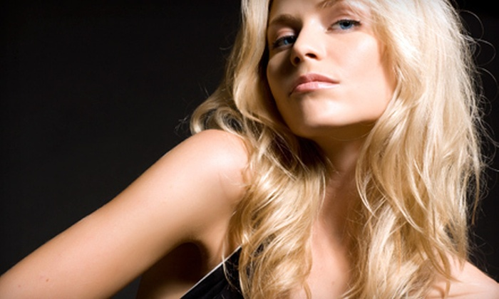 Blondi's Hair Salon - Upper West Side: Haircut or Aveda Keratin Treatment with Aveda Conditioning Treatment at Blondi's Hair Salon (Up to 77% Off)