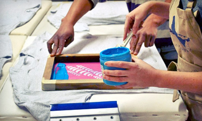 Second State Press - Northern Liberties -  Fishtown: Beginners' Screen-Printing Class for One or Two at Second State Press (Up to 61% Off)