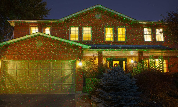 1,000-Point LED Projector Holiday Lights | Groupon