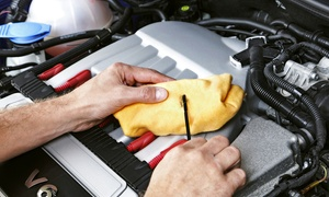 Philadelphia Car Care Center: Oil-Change Service Package at Philadelphia Car Care Center (Up to 54% Off). Two Options Available.