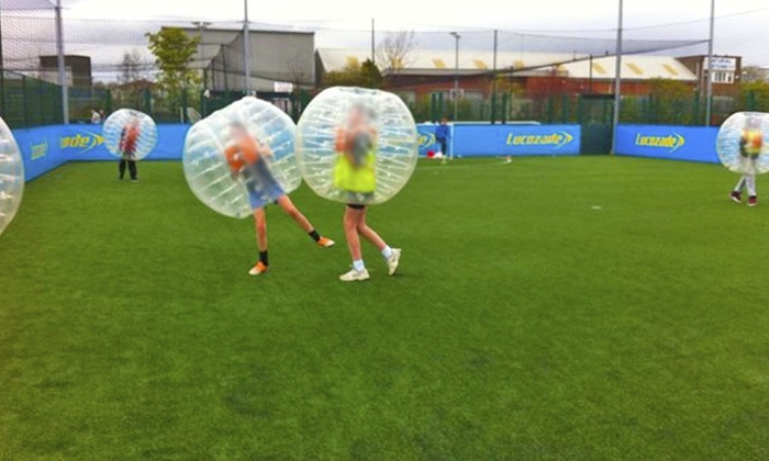 Bubble Football Leeds - Multiple Locations: Bubble Football For Up to 20 People for £154 at Bubble Football Leeds, Choice of Two Locations